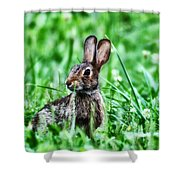 Better Get Started On Those Easter Eggs Shower Curtain