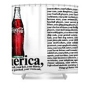 Better With Coke Shower Curtain