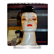 Bettie Page Lives Shower Curtain