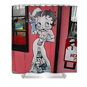 Betty Boop 3 Shower Curtain