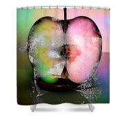 Between My Apples  Shower Curtain