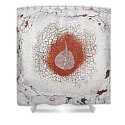Between Seasons Shower Curtain