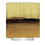 Between The Woods And Frozen Lake   Number Five Shower Curtain
