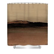 Between The Woods And Frozen Lake  Number One Shower Curtain