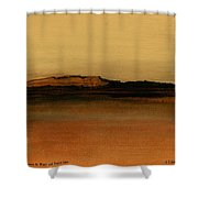 Between The Woods And Frozen Lake   Number Two Shower Curtain