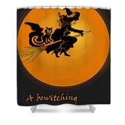 Betwitched Shower Curtain