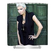Bewitching Beauty Palm Springs Shower Curtain
