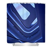 Bewitching Blue Shower Curtain