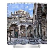 Beyazit Camii Mosque Shower Curtain
