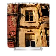 Beyoglu Old Houses 01 Shower Curtain