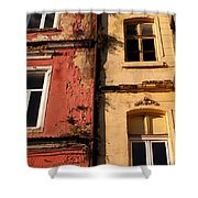 Beyoglu Old Houses 02 Shower Curtain