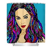 Beyonce Crazy In Love Shower Curtain