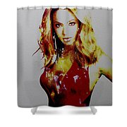 Beyonce Simply Me Shower Curtain