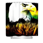 Beyond Eagle View Shower Curtain