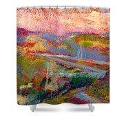 Beyond The City Shower Curtain