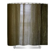 Beyond The Curtain Shower Curtain
