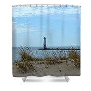 Beyond The Sand Shower Curtain