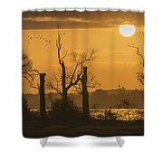 Beyond The Shadows Shower Curtain
