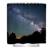 Beyond The Tree Tops Shower Curtain