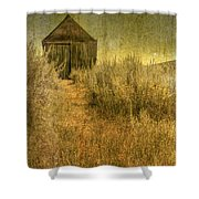 Beyond The Weeds Shower Curtain