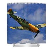 Bf 109 Messerschmitt  Shower Curtain