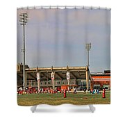 Bgsu Doyt Perry Stadium 3285 Shower Curtain