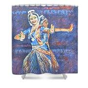 Bharatha Naatyam Shower Curtain