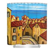 Biagi In Tuscany Shower Curtain