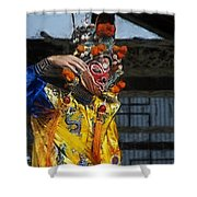 Bian Jiang Dancer Color Drawing Hp Shower Curtain