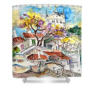 Biarritz 10 Shower Curtain