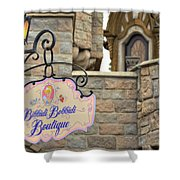 Bibbidi Bobbidi Boutique Shower Curtain