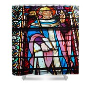 Bible Bearer Shower Curtain