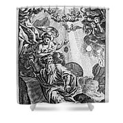 Bible History, 1752 Shower Curtain