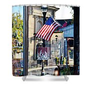 Biblion Used Books Reflections 2 - Lewes Delaware Shower Curtain