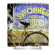 Bicycle 01 Shower Curtain