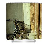 Bicycle 02 Shower Curtain