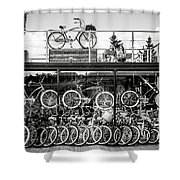 Bicycle Heaven Shower Curtain