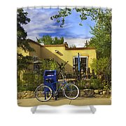 Bicycle In Santa Fe Shower Curtain