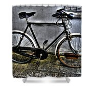 Bicycle Shower Curtain