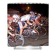 Bicycle Race By Jan Marvin Shower Curtain