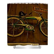 Bicycle Shop Shower Curtain