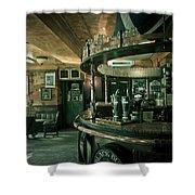 Biddy Mulligans Pub. Edinburgh. Scotland Shower Curtain by Jenny Rainbow