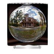 Bidwell Mansion Through A Glass Eye Shower Curtain