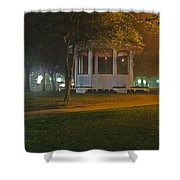 Bienville Square Grandstand In A Foggy Mist Shower Curtain