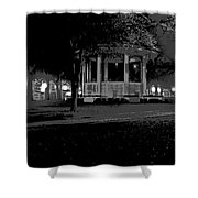 Bienville Square Grandstand Posterized Shower Curtain