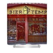 Bier Tempel Shower Curtain