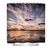 Atlantic Sky Shower Curtain