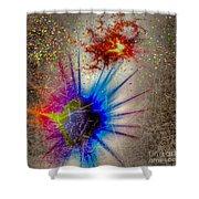 Big Bang Shower Curtain