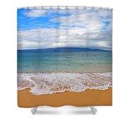 Big Beach Maui Shower Curtain