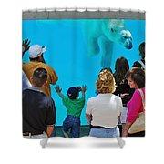 Big Bear Shower Curtain